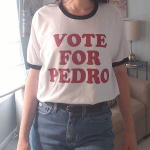 Retro Napoleon Dynamite Vote for Pedro Tee